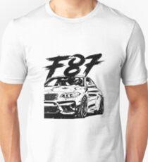 F87 M2 & quot; Dirty & quot; Slim Fit T-Shirt