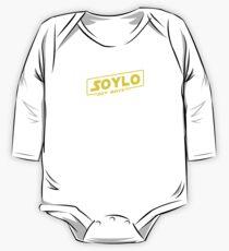 SOLO SOYLO STAR WARS A SOY BOY STORY LOGO Soy Boys One Piece - Long Sleeve