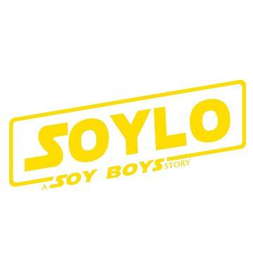 SOLO SOYLO STAR WARS A SOY BOY STORY LOGO Soy Boys by ZakiTaquito3