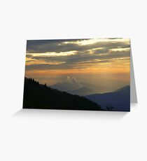 Great Smoky Sunrise Greeting Card
