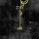 Smile! You're at 221B - yellow, foggy by gruffyjustice