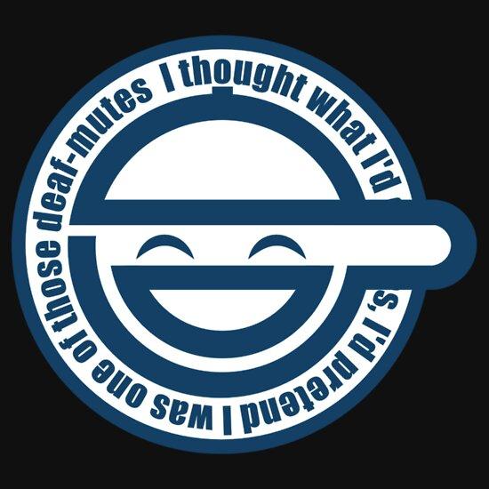 TShirtGifter presents: Laughing Man