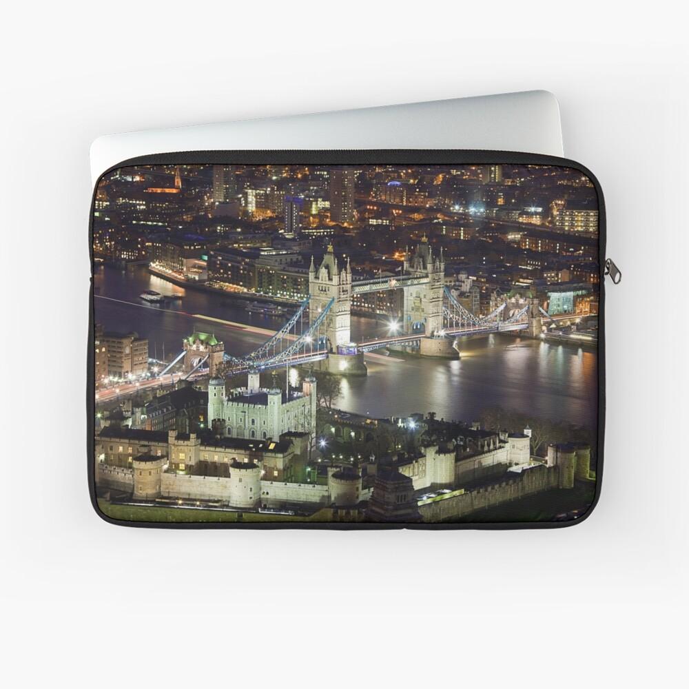London at Night Laptop Sleeve