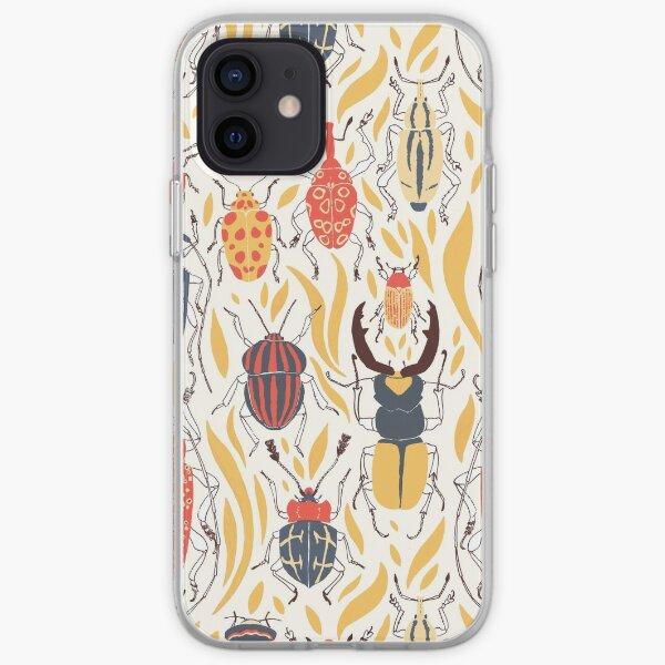 les coléoptères Coque souple iPhone