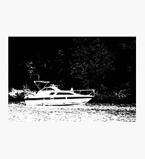 Crusin' on the Lake Photographic Print