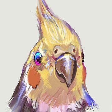 Birdy  by Artgenevieve