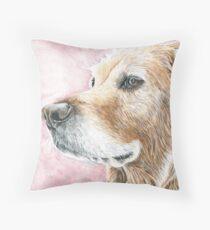 Faithful Companion - Labrador Throw Pillow