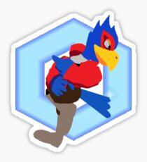 Falco Down Air Shine Sticker
