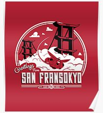 Greetings from San Fransokyo Poster