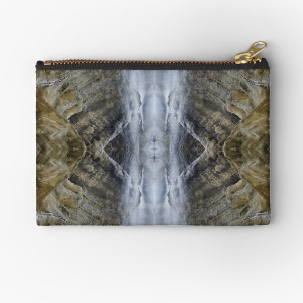 #Pattern, #design, #tracery, #weave, #drawing, #figure, #picture, #illustration Zipper Pouch