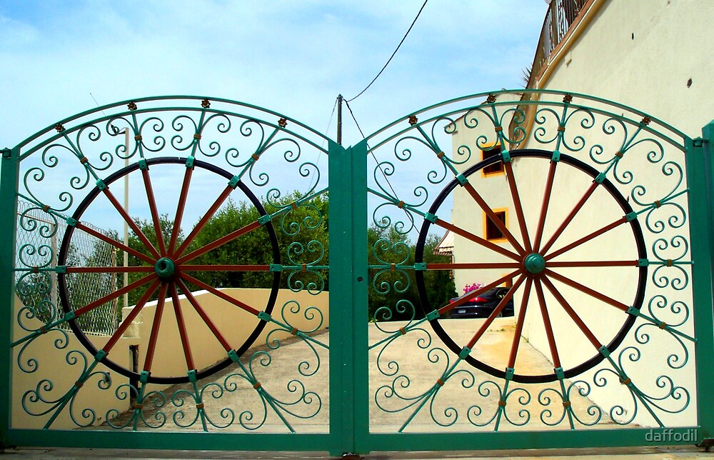Wonderful gates by daffodil