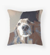 multicolor dog image Floor Pillow
