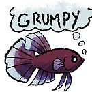 Grumpy Betta by spiffy-keen