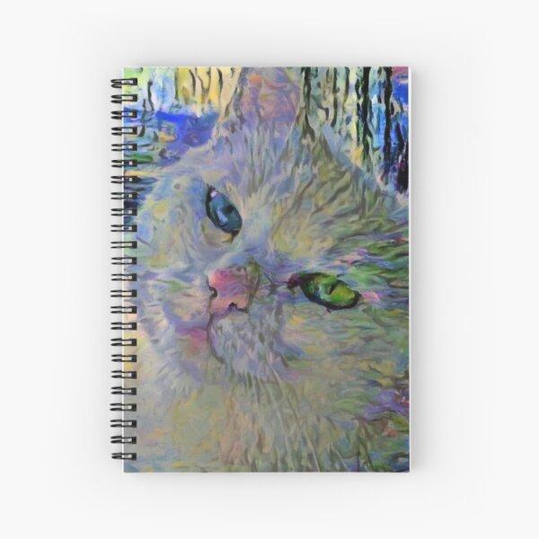 Claude's Cat Spiral Notebook