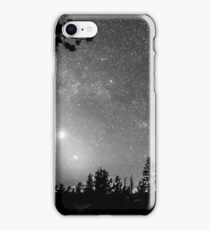 Forest Silhouettes Constellation Astronomy Gazing iPhone Case/Skin