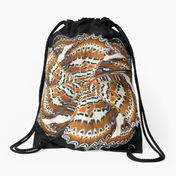 Wing mill - butterfly wings 1 Drawstring Bag