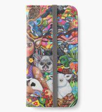 Der Wächter iPhone Flip-Case/Hülle/Klebefolie