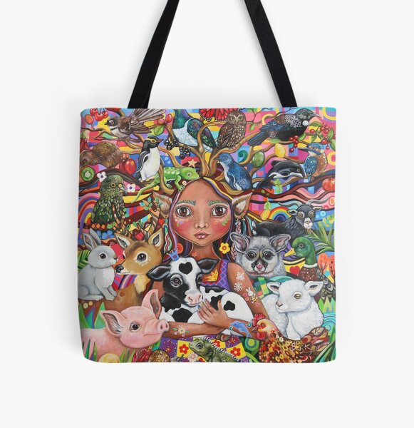 The Guardian All Over Print Tote Bag