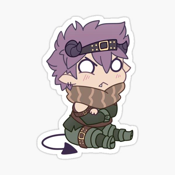 Grumpy Little Demon Sticker