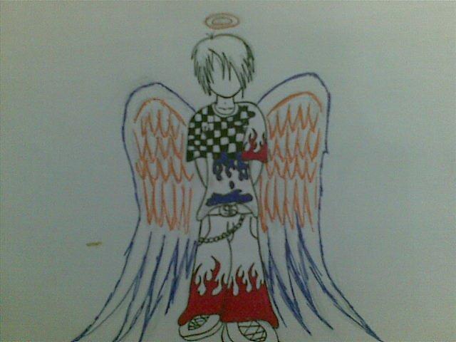 Emo angel by leo23