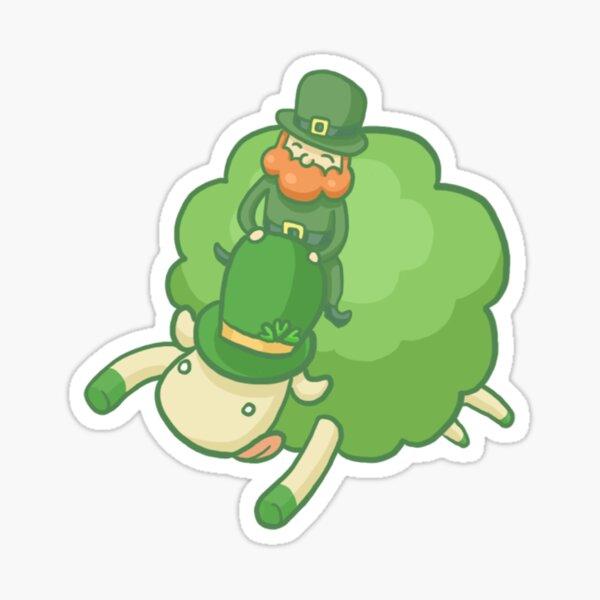 Patrick the sheep I Sticker
