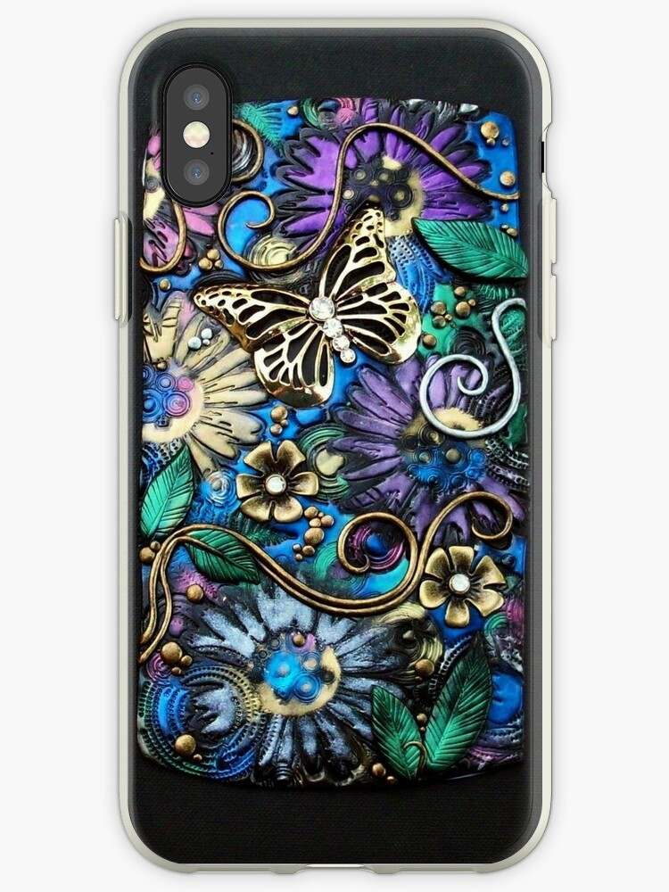 Butterfly Garden Fantasy iphone ipod Cover by MandarinMoon