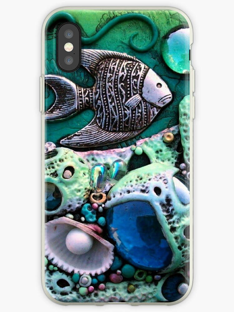 Tropical Reef Fantasy iphone ipod Cover by MandarinMoon