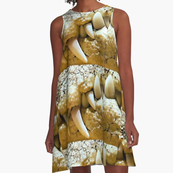 Never Smile at a Crocodile A-Line Dress