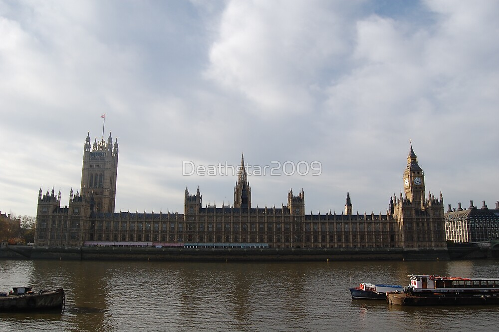 Houses of Parliament  by Deathstar2009