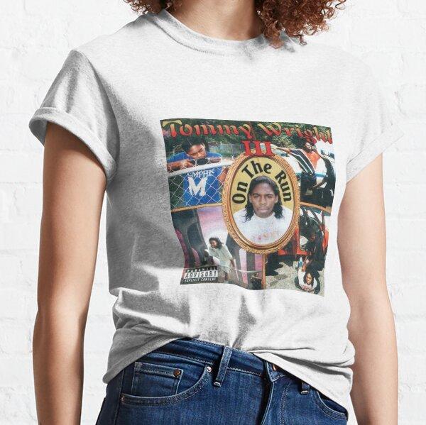 Hip Hop T-Shirt NY MC Underground Cypha 90s Rap Red Tee