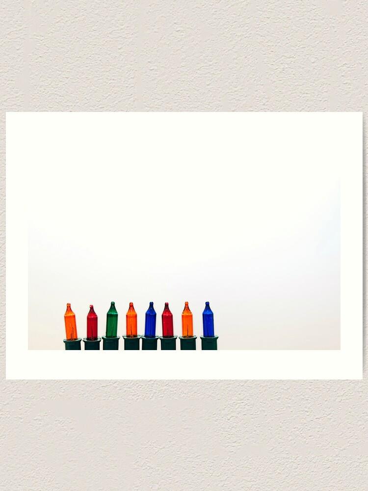 Alternate view of Christmas Lights Art Print