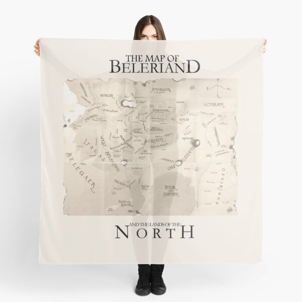 Map of Beleriand  Scarf