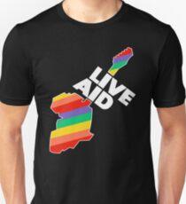 Live Aid Pflaster 1985 Slim Fit T-Shirt