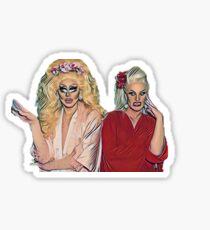 Trixie and Katya Show Sticker