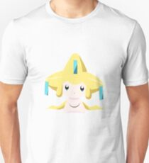 Jirachi Pokemon Simple No Borders T-Shirt