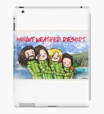 MOUNT WEATHER RESORT iPad Case/Skin