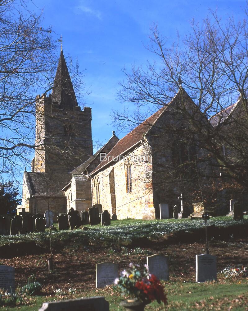 St. Mary`s Church, Lamberhurst, Kent by Brunoboy