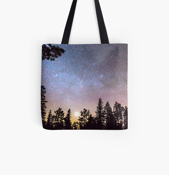 Star Light Star Bright All Over Print Tote Bag