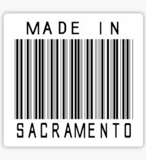 Made in Sacramento Sticker