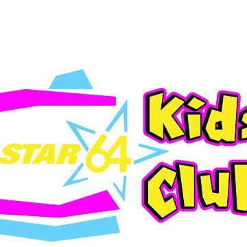 Star 64 WSTR Kids Club Logo by VirtuaRicky