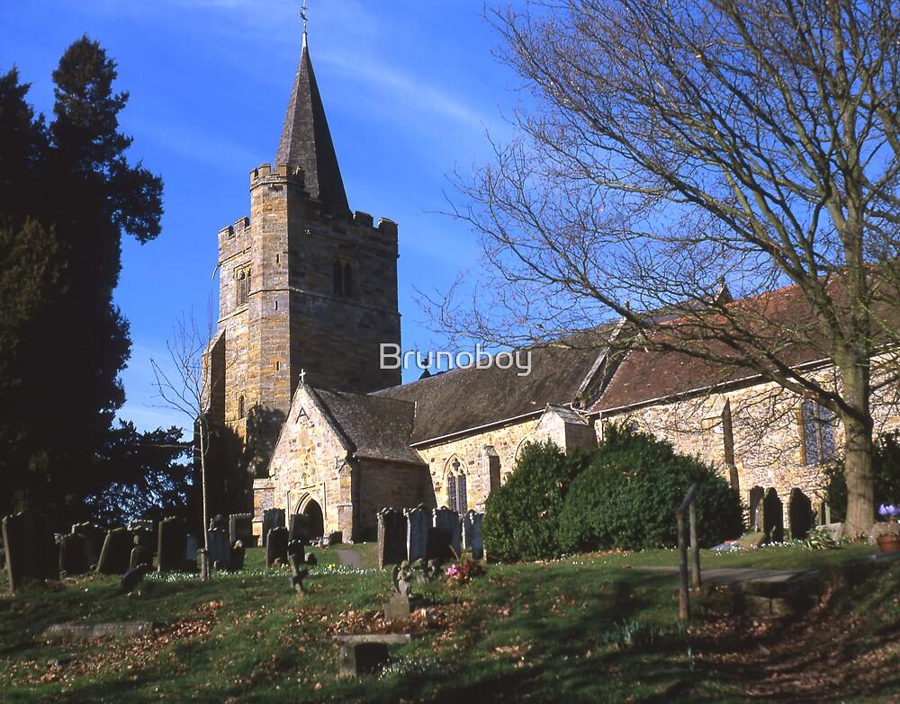 St. Mary`s Church, Lamberhurst, Kent. by Brunoboy