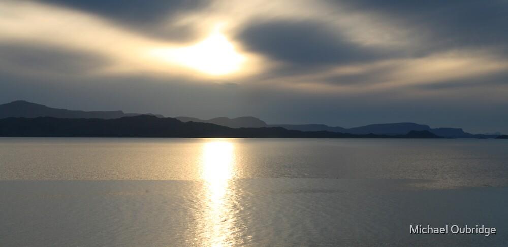Skye Sunset by Michael Oubridge
