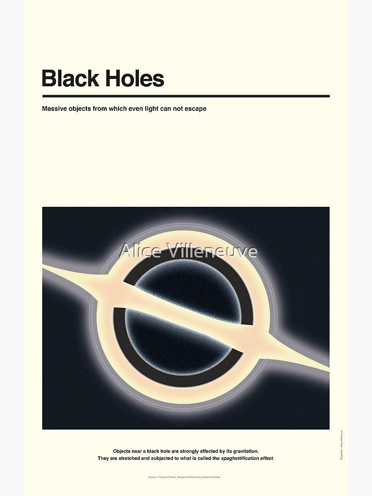 Schwarze Löcher von AliceVilleneuve