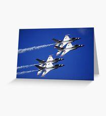 THUNDERBIRDS IN AVIANO Greeting Card