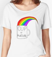 Cup Of Awesome Women's Relaxed Fit T-Shirt