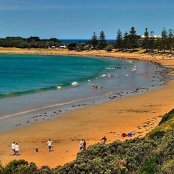 Cosy Corner, Torquay Front Beach, Victoria, Australia by janjuc