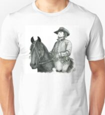 Athos and his horse Roger - The Musketeers Unisex T-Shirt
