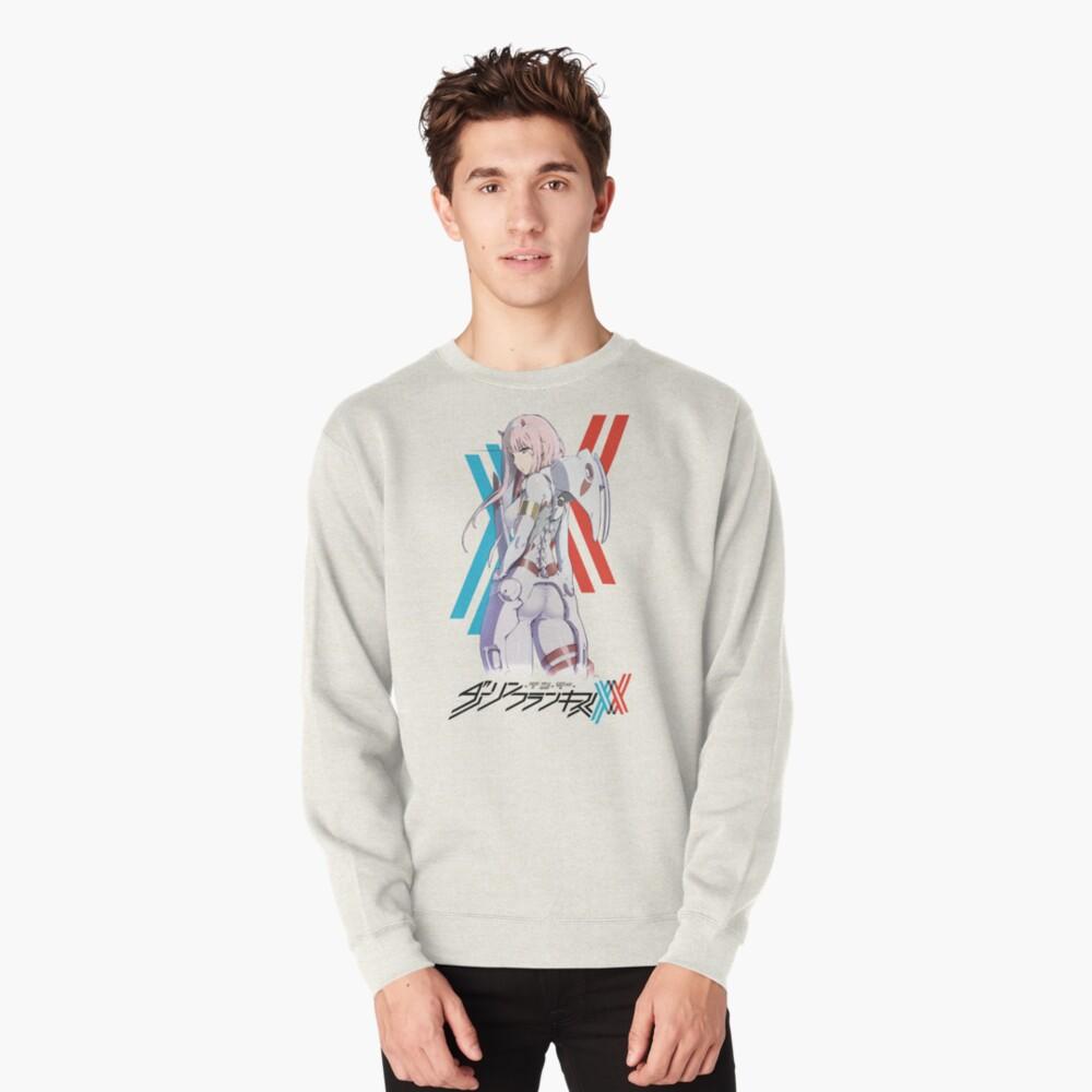 Darling In The Franxx -- Zero Two Pilot Suit Pullover Sweatshirt
