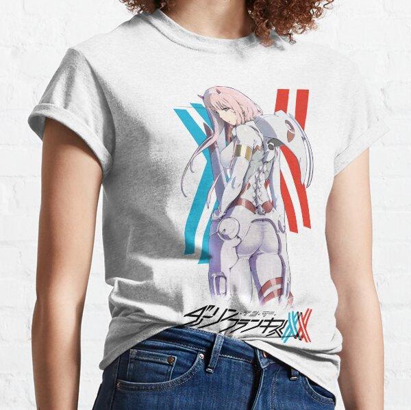 Darling In The Franxx - Zero Two Pilot Suit Camiseta clásica