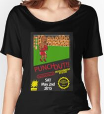 Floyd Mayweather Nintendo Punch out parody !!! Women's Relaxed Fit T-Shirt